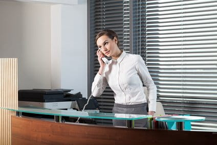 Your Interview Starts with the Receptionist