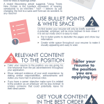 Quick Tips – Make your Resume stand out! INFOGRAPHIC