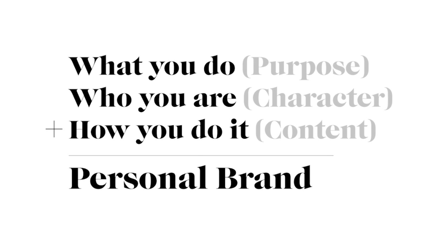 your personal brand weekly wrap rusher rogers