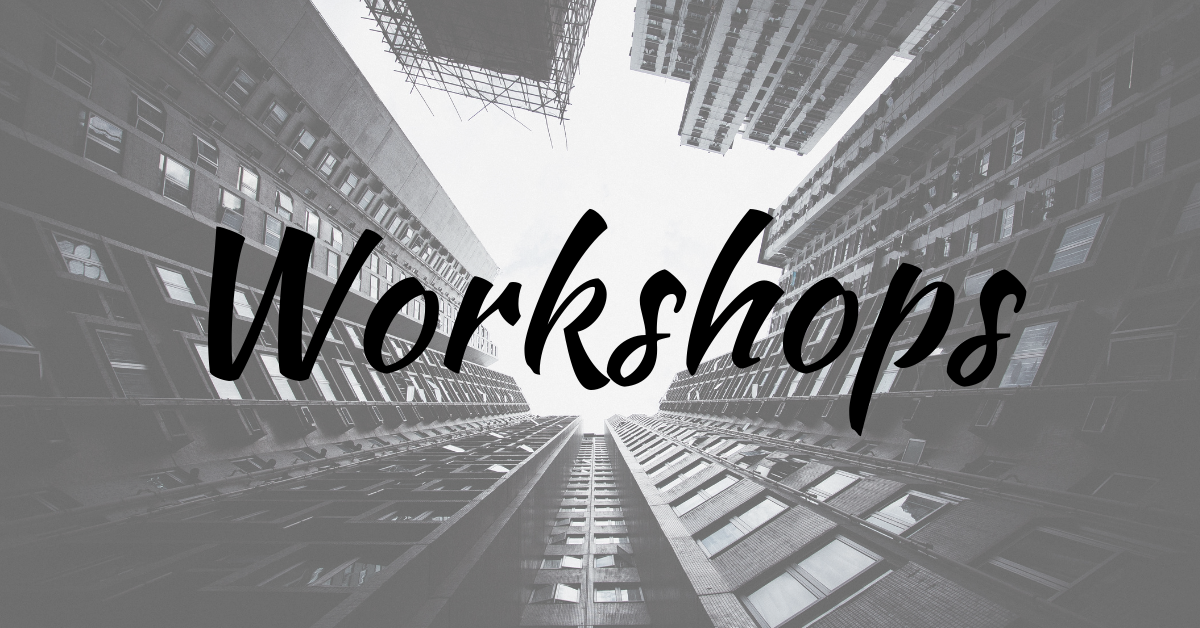 Workshops | Weekly Wrap-Up